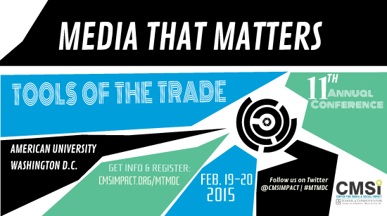 On the Road Again! Media That Matters, TFI Interactive, MIForum and More