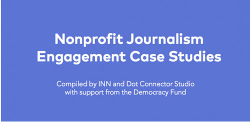 New journalism engagement case studies