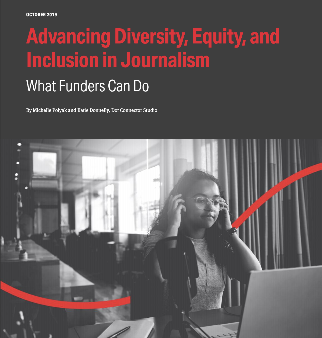 Democracy Fund & DCS Release New Report on DEI in Journalism Along with Tools for the Field