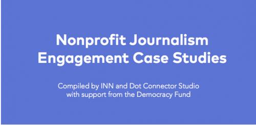 New journalism engagement case studies