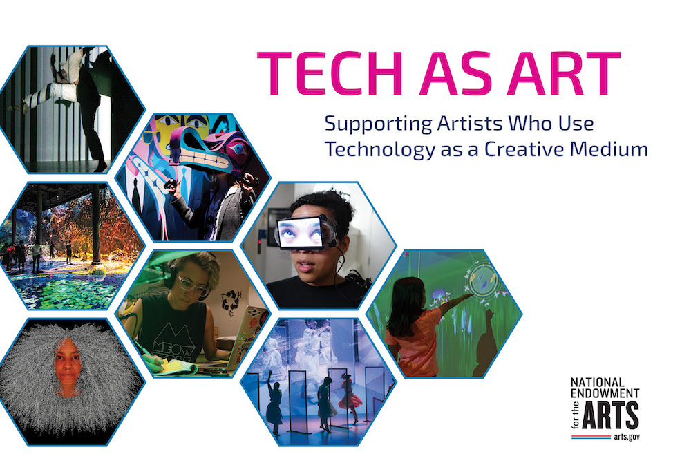 How can we support artists who use tech as a creative medium?